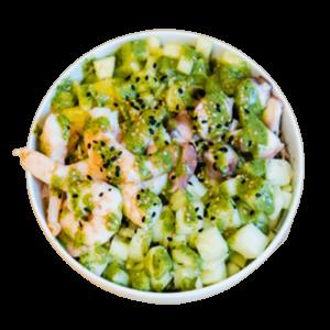 bowl green poke thefreshpoke del mes