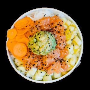 bowl salmon poke thefreshpoke
