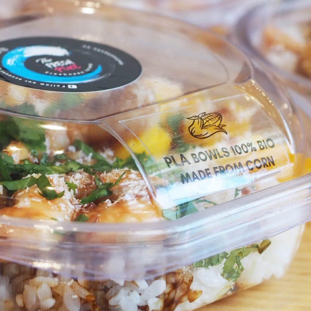 bowl pla 100% bio degradables detalle