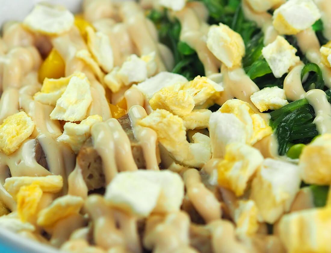El Seitán es conocido como carne vegetal por su textura y su sabor.